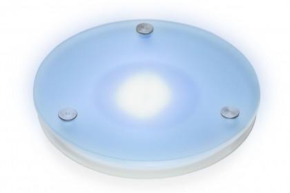 Glasblende mit LED